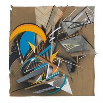 GILBERT1 - Mixed media on cardboard 5