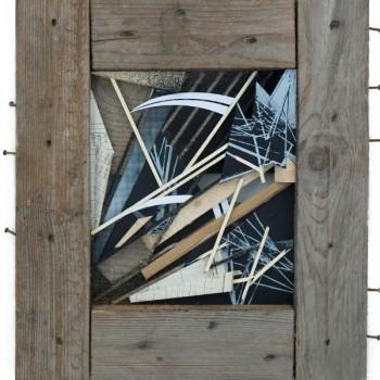 GILBERT1 - Mixed Media on wood