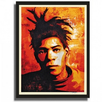 Shepard FAIREY - BASQUIAT CANVAS