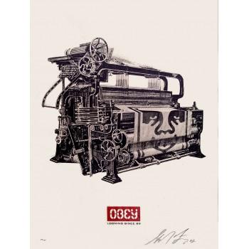 Shepard FAIREY - Loom Poster (2002)
