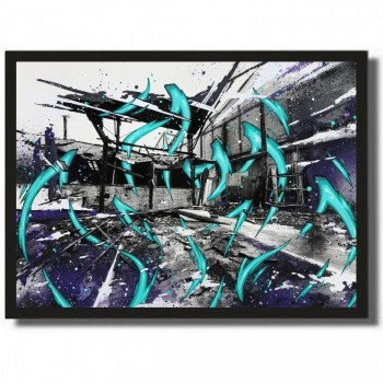KATRE - K. Ivry Factory 3 - Acrylique sur papier