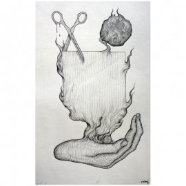 ROTI - Composition 6 - Drawing Pencil
