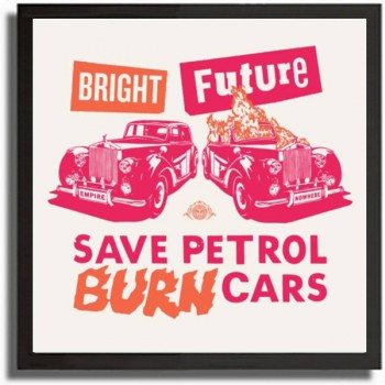 Shepard FAIREY - Bright Future (Large - pink)