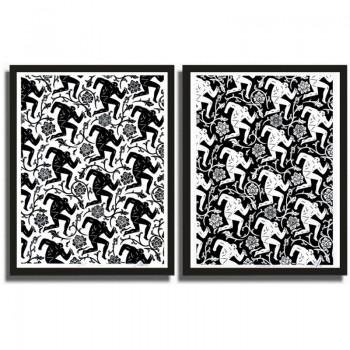 Shepard FAIREY - Pattern of Corruption Set - White Edition