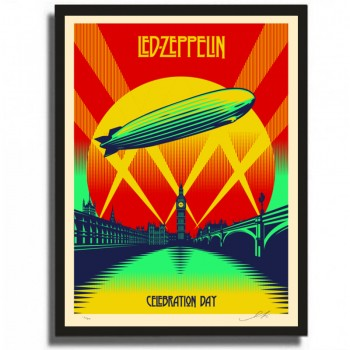 Shepard FAIREY - Led Zeppelin Celebration Day
