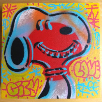 SPEEDY GRAPHITO - SNOOPY