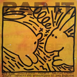 KEITH HARING & FUTURA 2000 - RAP IT
