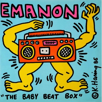 KEITH HARING - EMANON