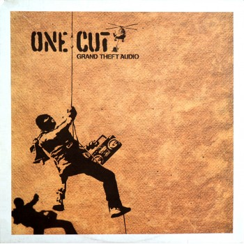 BANKSY - ONE CUT Grand Theft Audio | 2000