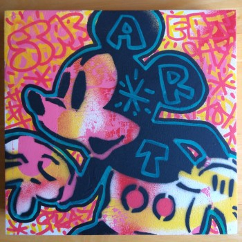 SPEEDY GRAPHITO - Mickey Mouse