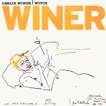 J.M BASQUIAT - LESLIE WINER - WITCH