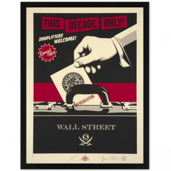 Shepard FAIREY - Shoplifters Welcome (large)
