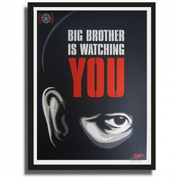 Shepard FAIREY - BIG BROTHER IS WATCHING YOU (print)