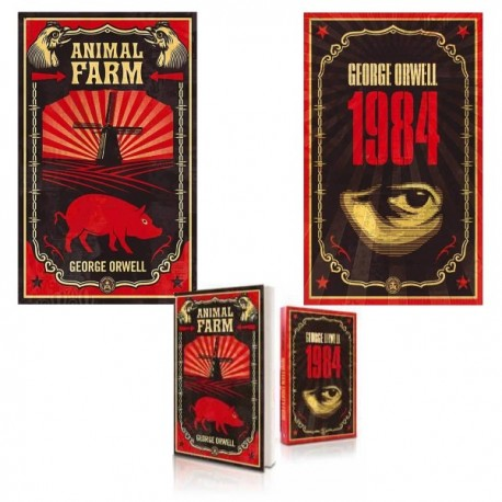 Shepard FAIREY - 1984 + Animal Farm