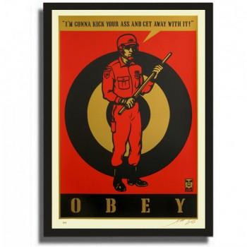 Shepard FAIREY - Riot Cop Large Format (2009)