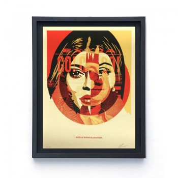 Shepard FAIREY - Media Disintegration