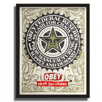 Shepard FAIREY - Cash for Chaos (2001)