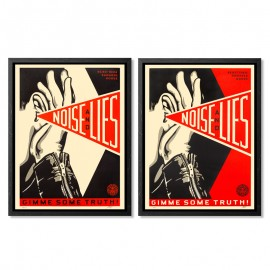 Shepard FAIREY - Noise and Lies (set)