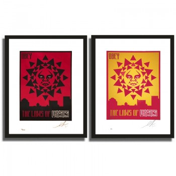 Shepard FAIREY - Obey the Laws of Physics (set)