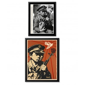 Shepard FAIREY - Chinese soldiers (set)