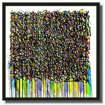 JONONE - Acrylic on canvas - Killing me softly