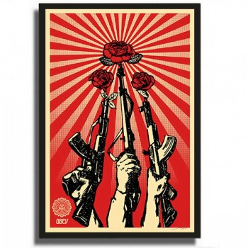 Shepard FAIREY - Guns And Roses (2007)