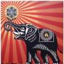 Shepard FAIREY - OBEY ELEPHANT (2009)