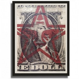 Shepard FAIREY - This is your god dollar (2003)