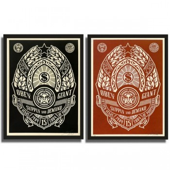 Shepard FAIREY - SUPPLY AND DEMAND (set)