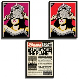 Shepard FAIREY - Global Warning set