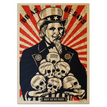 Shepard FAIREY - Uncle SCAM (2006)