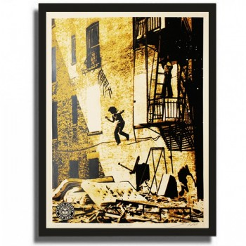 Shepard FAIREY + Martha COOPER - Leap of Faith