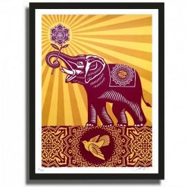 Shepard FAIREY - OBEY ELEPHANT gift (2011)