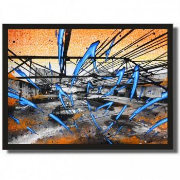 KATRE - K. Porte d'Orleans 4 - Acrylique sur papier