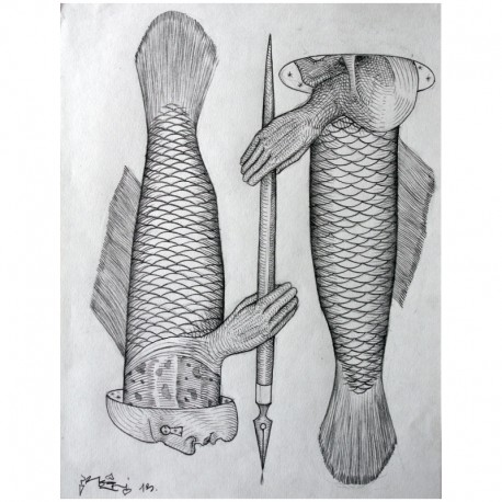 ROTI - Composition 1 - Drawing Pencil