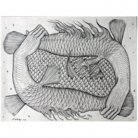ROTI - Composition 4 - Drawing Pencil