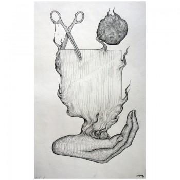 ROTI - Sans titre 6 - Dessin au crayon