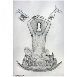 ROTI - Sans titre 7 - Dessin au crayon