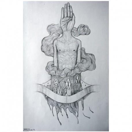 ROTI - Sans titre 8 - Dessin au crayon