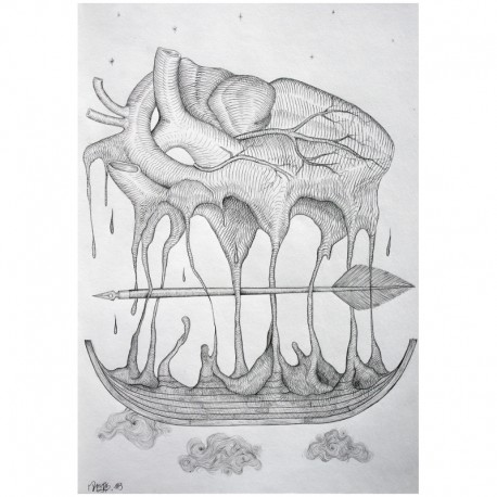 ROTI - Composition 10 - Drawing Pencil