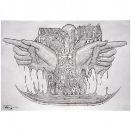 ROTI - Sans titre 11 - Dessin au crayon