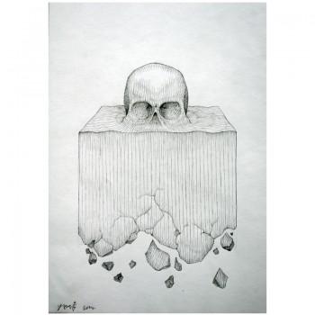 ROTI - Sans titre 12 - Dessin au crayon