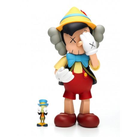 KAWS - Pinocchio et Jiminy Cricket