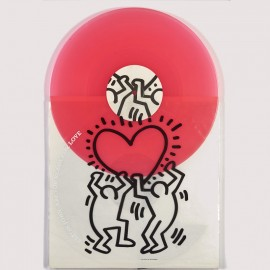 D'après KEITH HARING - ELTON JOHN Are you ready for love