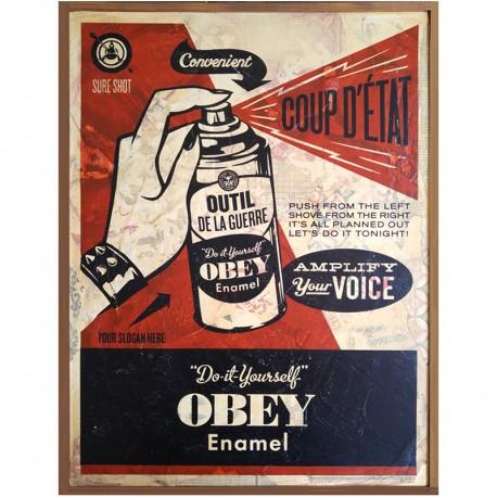 Shepard FAIREY - Coup d'Etat