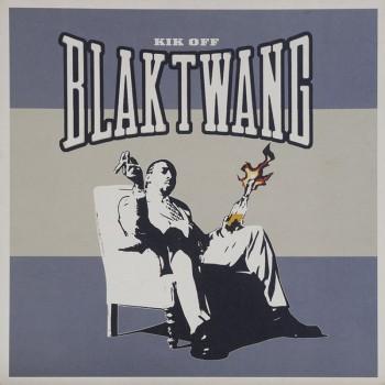 BANKSY - KIK OFF Blak Twang   2002