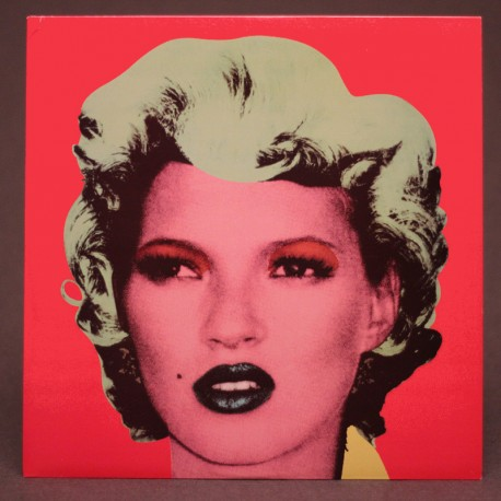 (d'après) BANKSY - KATE MOSS (Dirty Funker)