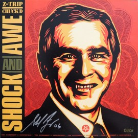 Shepard FAIREY - Z-TRIP + Chuck D - SHOCK and AWE