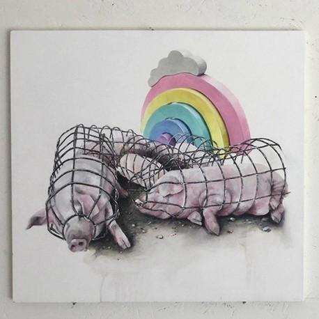Dorothée CLAUSS - PIGS (2017)