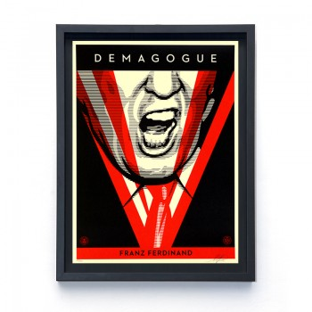 Shepard FAIREY - DEMAGOGUE (TRUMP)